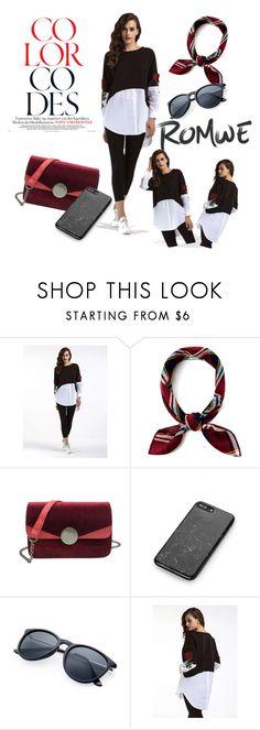 """romwe fashion"" by dressmania3 ❤ liked on Polyvore featuring romwe"
