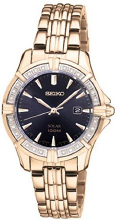 Seiko Solar 3-Hand with Date Women's watch