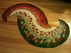 Free Table Runner Quilt Patterns | spiral table runner pattern free | Quilt, Knit, Run, Sew: ... | Quilt ...