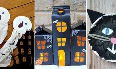 8 Nouveaux bricolages d'Halloween à faire avec les enfants!