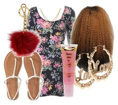 """""""Untitled #1023"""" by beautyqueen-927 ❤ liked on Polyvore featuring Aéropostale, Barry M and Michael Kors"""