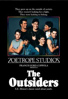 The Outsiders - Finally watched this a few months ago, years after reading the book and even more years after hearing it referenced on Gilmore Girls. I preferred the book but the film was good:)
