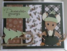 Scrapcard girls: 52 weeks to Christmas week 13 challenge: kerstboom Christmas Cards, Christmas Ornaments, Marianne Design, Crazy Cats, Cute Animals, Card Making, Challenges, Diy Projects, 52 Weeks