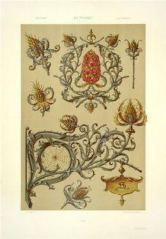 Anton Seder Art Nouveau Prints 1890