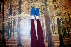 """criss-cross blue suede photo by: goni riskin """"LAX"""" SHOES"""