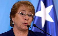 Bachelet viaja a zona afectada por terremoto en Chile