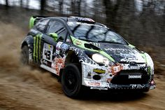 Ken Block and Alex Gelsomino (2012 WRC Monster Energy Ford Festa)