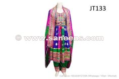 afghan fashion dress new arrival tribal fusion bridal clothes hand embroidered