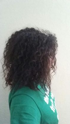 My curly, wild hair.