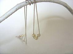 Silver Stardust Minimalist Dainty Necklace