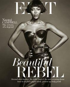 Naomi Campbell for The Edit 2013 2