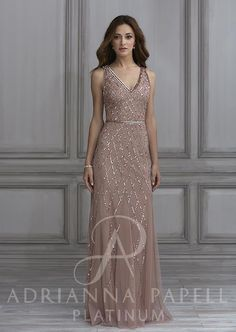 cc3e1ab780d9 40135 Adriana Papell Bridesmaid, Modest Wedding Gowns, Bridal Dresses,  Classic Wedding Gowns,