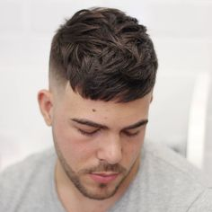 agusdeasis_ short mens crop haircut 2017