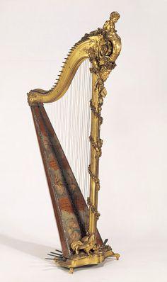 George Cousineau Pedal Harp