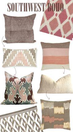 southwest boho style textiles