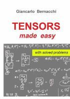 TTensors made easy : an informal introduction to Maths of General Relativity / Giancarlo Bernacchi Mathematics, Make It Simple, Physics, Easy, Books, Maths, Purpose, Abstract, Formal