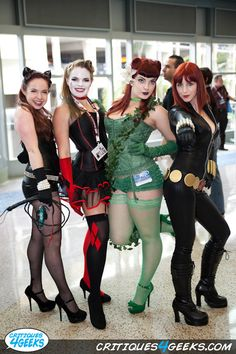 Black Widow is not from Gotham, but they look great anyways!