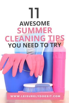 Here's a list of simple summer cleaning tips to help you get your home ready for summer and keep it tidy throughout the warm months. Household Cleaning Schedule, Cleaning Schedule Printable, House Cleaning Checklist, Daily Cleaning, Cleaning Hacks, Cleaning Routines, Indoor Activities For Toddlers, Toddler Learning Activities, Toddler Development