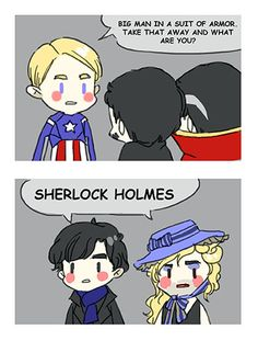 Marvel has confirmed that Benedict Cumberbatch will play Doctor Strange in the upcoming movie :D I'm sorry if this idea was done before Marvel Funny, Marvel Memes, Marvel Dc Comics, Marvel Avengers, Benedict Cumberbatch, Sherlock Holmes, Sherlock Poster, Funny Sherlock, Sherlock Season