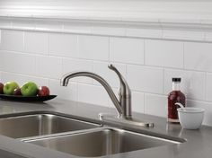 Delta 140-SSWE-DST Collins Single Handle Kitchen Faucet