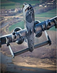 "A-10. Circa1985. We reffered to these as Gottes Faust, thank you to you pilots who screamed in like Arch Angels and brought ""IT"" if not for you, be no me..DarkHorse."