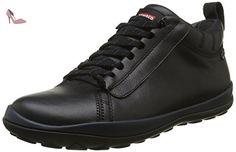 Camper Peu Pista - Baskets Basses - Homme - Noir (Black 001) - 43 EU - Chaussures camper (*Partner-Link)