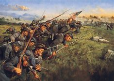 The Last Full Measure 1st Minnesota Regiment at Gettysburg by Keith Rocco