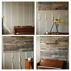 Pallet Wall. #redeemingdesignstn #pallets #upcycle #pallet www.facebook.com/redeemingdesignstn