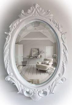 Resultado de imagen para marcos ovalados antiguos marcos - Espejos antiguos de pared ...