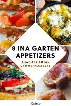 Before you start mapping out holiday menus, take a beat.our hero Ina Garten has a plethora of crowd-pleasing finger foods to choose from. Appetizers For A Crowd, Meat Appetizers, Appetizer Recipes, Wine Recipes, Food Network Recipes, Cooking Recipes, Best Ina Garten Recipes, Quick Dinner Recipes, Appetisers