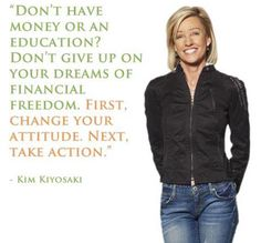 Kim Kiyosaki's Advice For A Successful Life