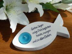 Weiteres - Fisch für Taufe, Konfirmation, Kommunion, Firmung - ein Designerstück von Bastelimperium bei DaWanda