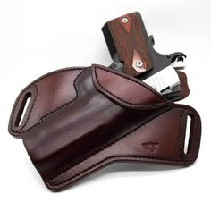 Your Shopping Cart 1911 Leather Holster, 1911 Holster, Custom Leather Holsters, Pistol Holster, Leather Wallet Pattern, Leather Pouch, Leather Tooling, Kydex, Small Of Back Holster