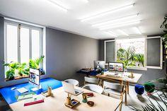 Memphis Revival: Masquespacio's Renovated Design Studio in Valencia, Spain   Yatzer