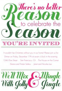 Secret Santa Christmas Party Invitations | Zazzler's Christmas ...