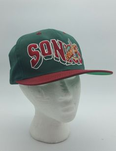 G Cap GCC Seattle Sonics Vintage OG Original 90s Green Bill Snapback Hat OSFA | Sports Mem, Cards & Fan Shop, Fan Apparel & Souvenirs, Basketball-NBA | eBay!