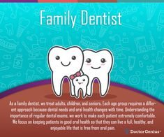 We understand that visiting a new dentist can make patients unsure about what they will experience. We work diligently so that patients enjoy their visit – every time. To schedule your appointment, call Dental Surgery, Dental Implants, Randal, Pediatric Dentist, Family Dentistry, Best Oral, Dental Services, Oral Health, Pediatrics