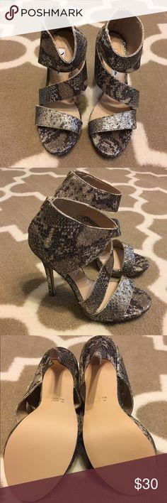 Nina New York Brand new Nina New York heels. Has a very pretty sparkle to them ✨ size 6 Nina Shoes Heels