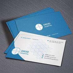 hospital business card