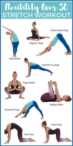 How To Regain Flexibility Over 50 Get Healthy U is part of Yoga routine - Aging comes with a whole host of unpleasant issues Use these tips & stretches to regain flexibility over 50 & start feeling like your younger self again! Yoga Fitness, Fitness Workouts, At Home Workouts, Health Fitness, Senior Fitness, Fitness Diet, Mens Fitness, Free Fitness, Body Workouts