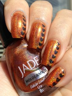 GioNails: 31DC2013 Day 2: Orange Nails