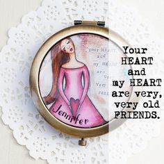 Personalized Gifts for Her  Romantic Valentines by LadyArtTalk