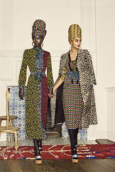 Duro Olowu Fall 2019 Ready-to-Wear Fashion Show Collection: See the complete Duro Olowu Fall 2019 Ready-to-Wear collection. Look 9 Fashion Brand, Fashion Models, Fashion Show, Fashion Outfits, Vogue Fashion, Fashion Images, African Inspired Fashion, African Fashion, Duro Olowu