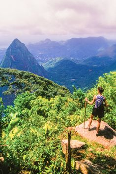 Castries, St. Lucia | From the twin peaks of the Pitons mountains to rainforest and palm-fringed beaches, this is your gateway to outdoor fun, relaxation and exploring the unique culture.