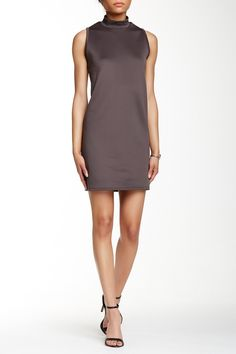 Loveappella - Mock Neck Shift Dress at Nordstrom Rack. Free Shipping on orders…