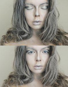 Frozen/ Ice queen makeup