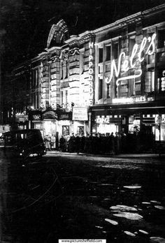 Hippodrome Theatre and Nell's Bar, Cambridge Street. Opened 23 December 1907 as a Music Hall. Became a permanent cinema on 20 July In came under the management of The Tivoli (Sheffield) Ltd. Closed 2 March 1963 and demolished Cambridge Street, 23 December, Theatres, Sheffield, Cinema, Management, Entertainment, History, City
