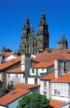 Santiago de Compostela (Old Town) is a UNESCO World Heritage site