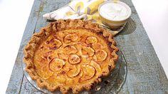 Carla Hall's Lemon Shaker Pie with Black Pepper Crust