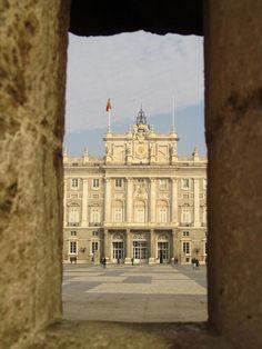 Royal Palace in Madrid.